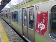 JR東日本・山手線 ラッピング電車外観