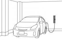 EV・PHEV充電用 充電ボックス「ELSEEV cabi」(Mode3) 使用イメージ