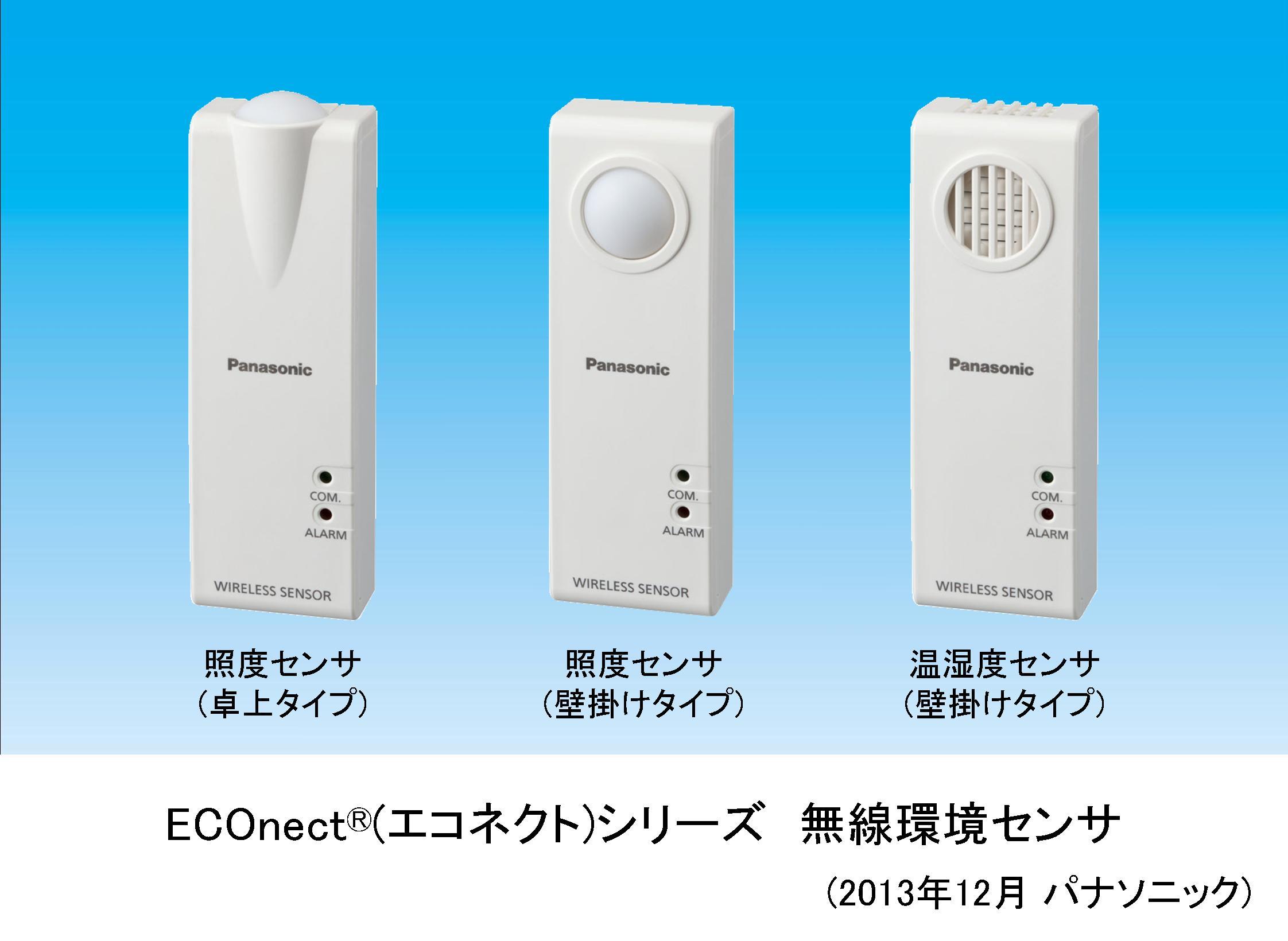 ECOnect® (エコネクト) シリーズ 無線環境センサ