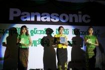 ミャンマーでのソーラーランタン新製品発表会