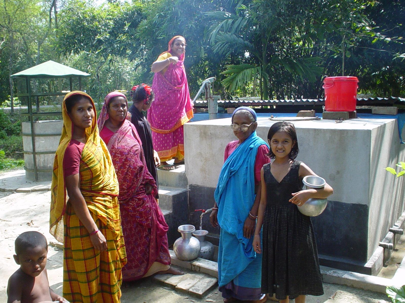 バングラデシュやベトナムにおいて、水に関する啓発活動などを行っている「アジア砒素ネットワーク」