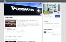 LinkedIn Panasonic Company Page