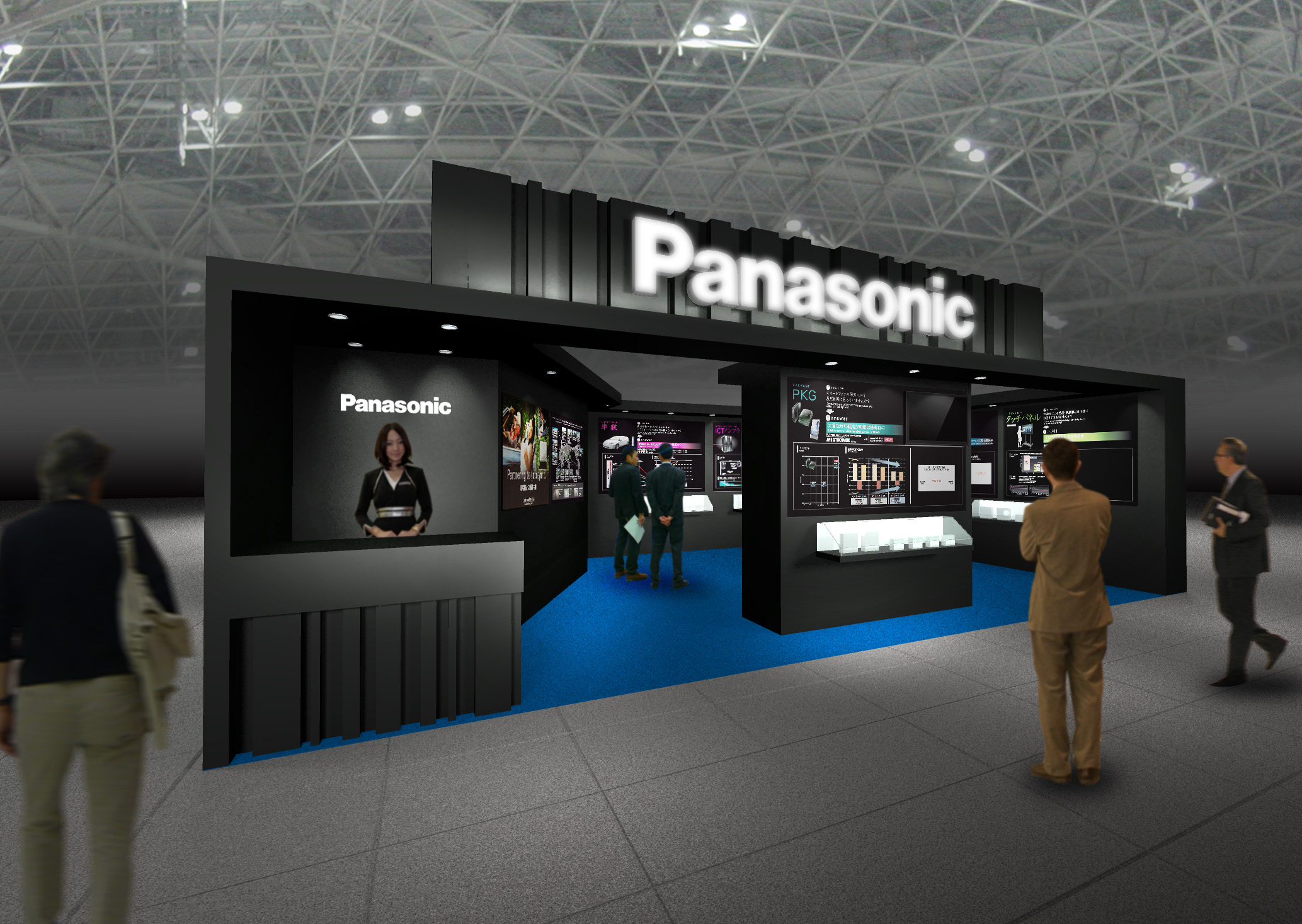パナソニックブース 展示イメージ
