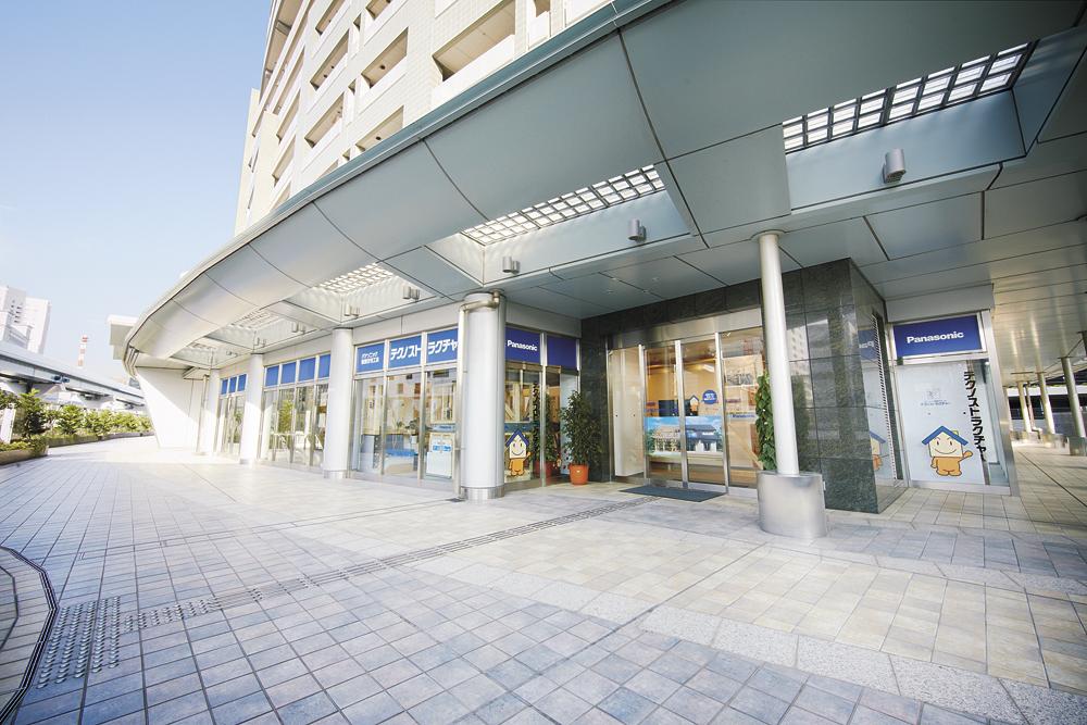 パナソニックの木造耐震住宅工法の常設展示スペース「テクノストラクチャー・ラ ボ TOKYO」