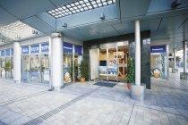 パナソニックの木造耐震住宅工法展示スペース「テクノストラクチャー・ラ ボ TOKYO」エントランス