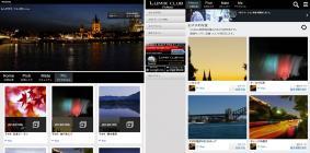 より直感的に操作ができるユーザーインターフェースに。「LUMIX CLUB PicMate」