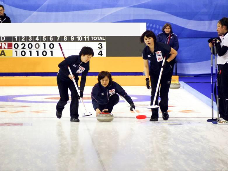 カーリング日本代表チーム ソチオリンピック