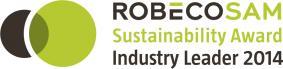 RobecoSAM社のCSR格付け「Industry Leader」にも。