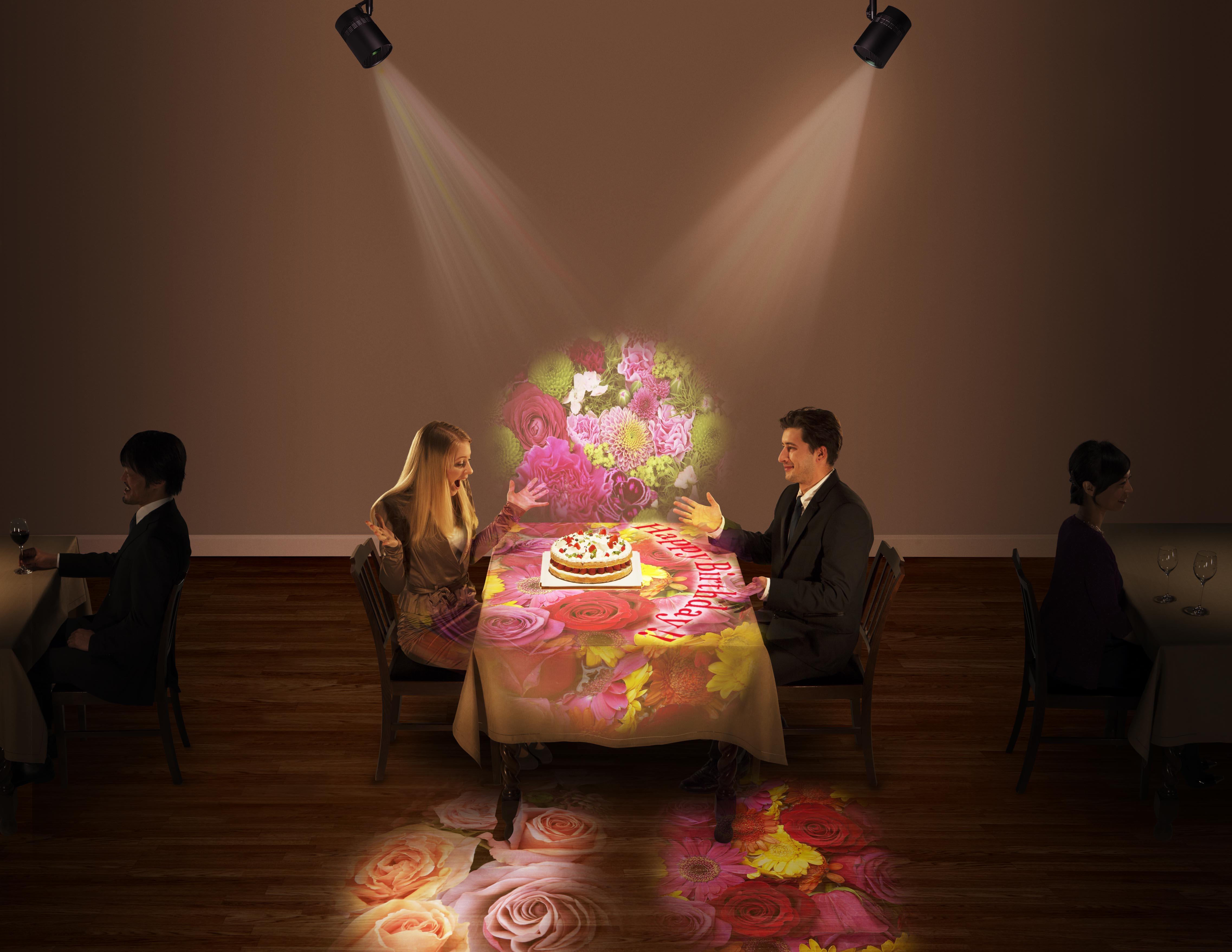 照明と映像の融合でこれまでにない空間演出を実現するパナソニックの「Space Player」