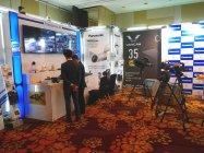 商品デモ:業務用AVソリューション、放送機器