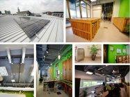 環境対応型オフィス「UMCares」に納入されたパナソニックの環境配慮型製品とソリューション