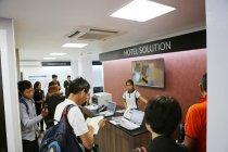ホテルソリューションのコーナー【パナソニック ショウルーム & サービスセンター ヤンゴン】