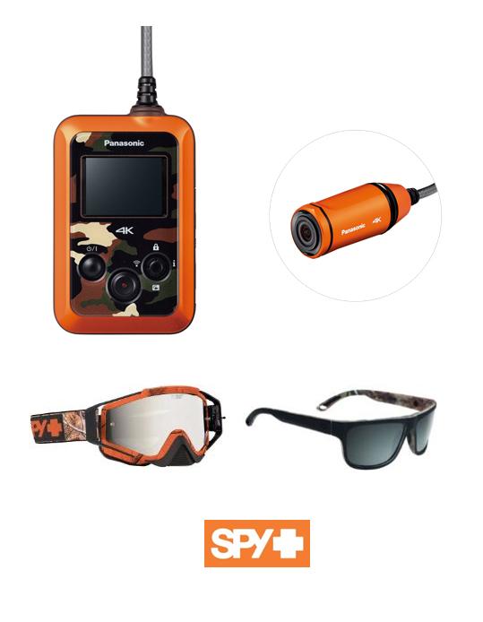 「SPY」コラボ ウェアラブルカメラ