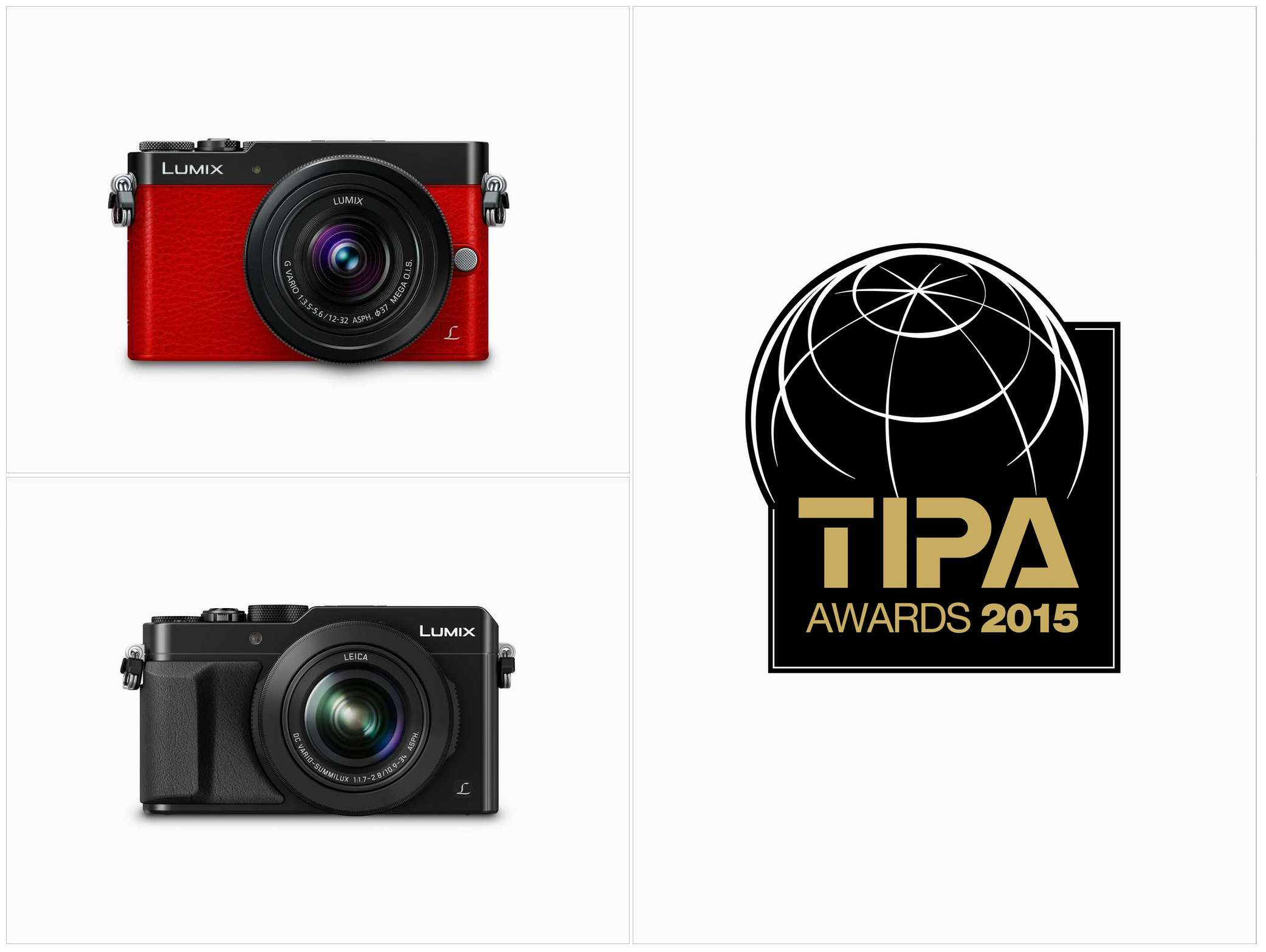 パナソニック LUMIX GM5とLX100が「TIPAアワード2015」を受賞