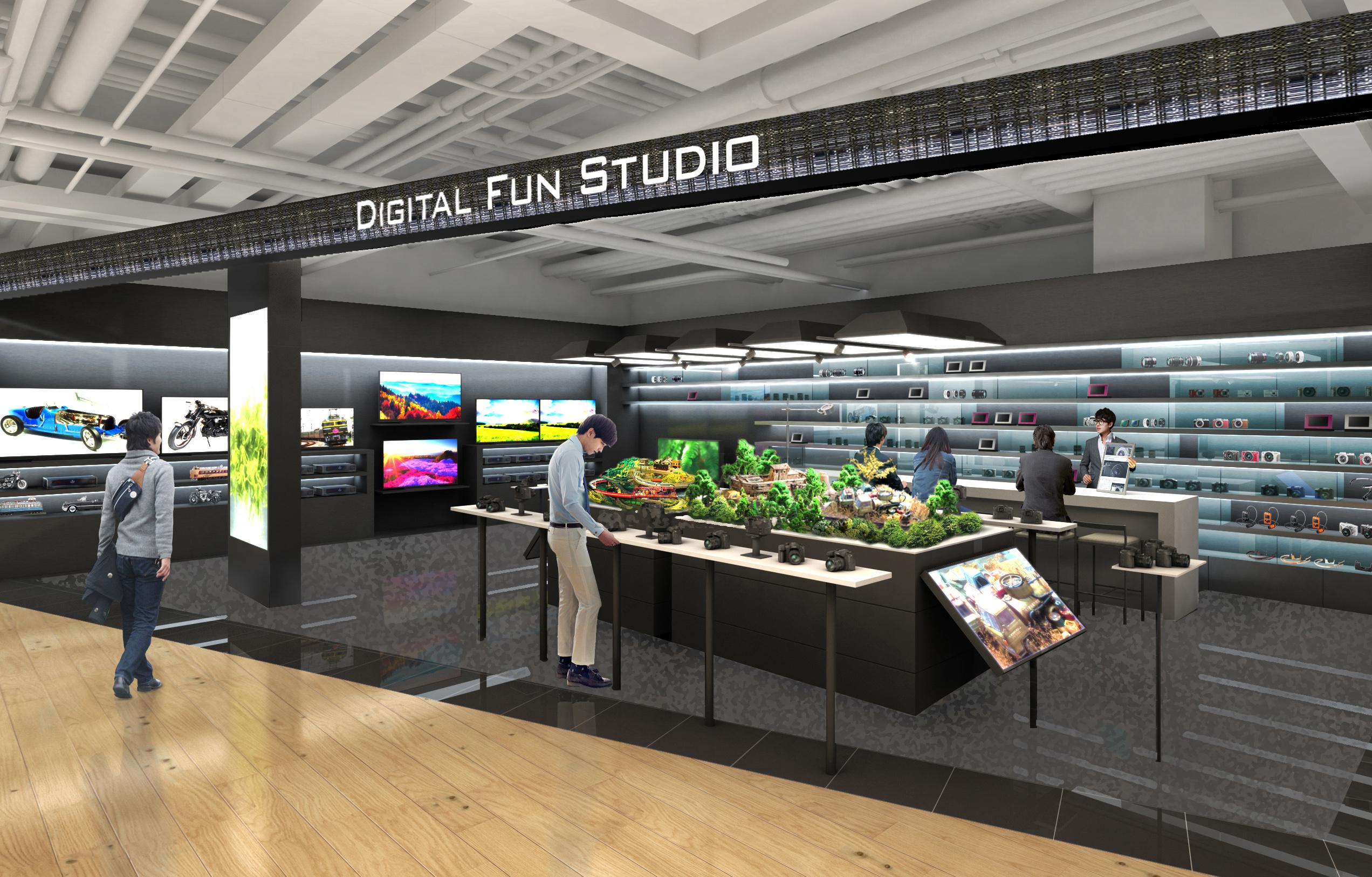 パナソニックセンター大阪 2階「デジタルファンスタジオ」リニューアル!(2015年4月24日)
