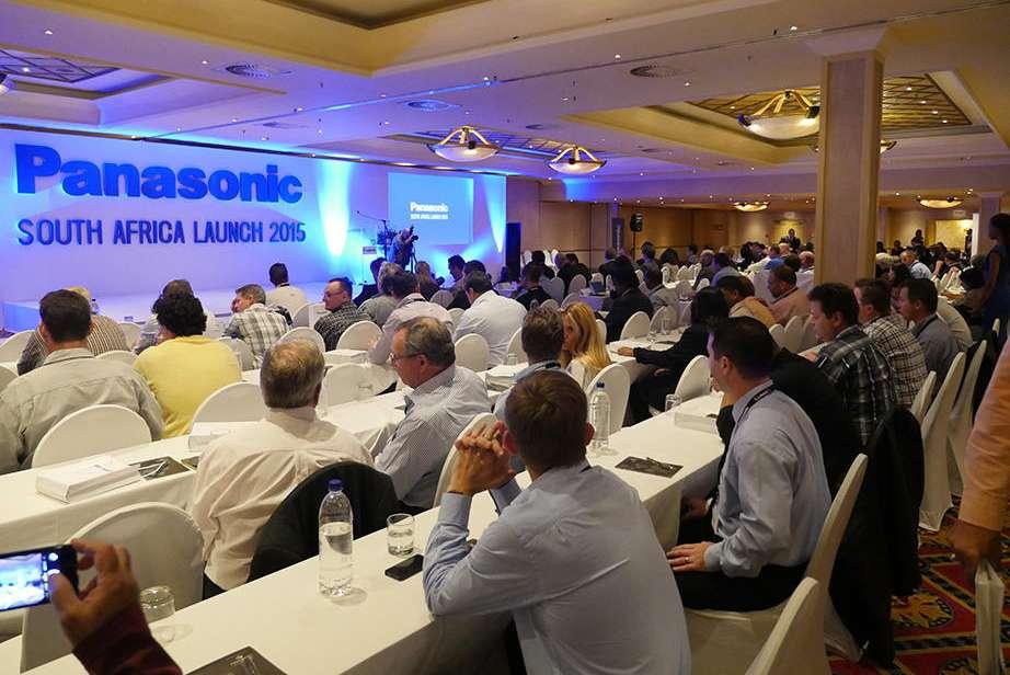 「Panasonic South Africa Launch 2015」プレゼン会場