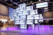 65型4K対応スマートビエラ「WT600」を使った巨大モニュメント IFA2013パナソニックブース