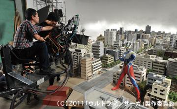 3D版『ウルトラマンサーガ』~HDボックスカメラHC1800で撮影