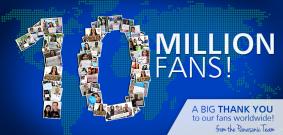 パナソニックSNS担当者たちのメッセージ写真で1000万人のファンに感謝!