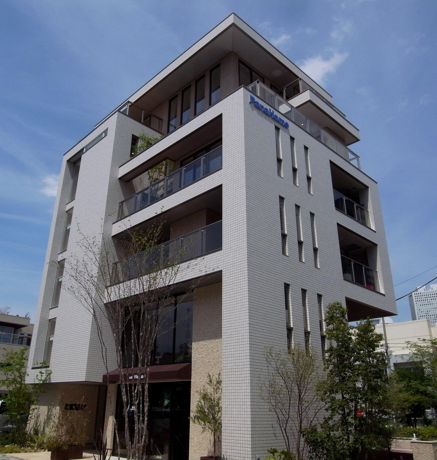 【パナホーム】『Vieuno PRO』6階建 新宿展示場