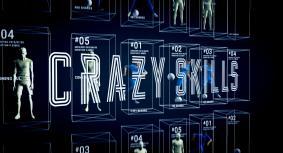 「NEYMAR JR. CRAZY SKILLS」シーン2