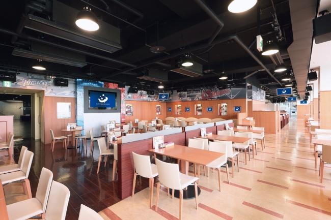 札幌ドームのレストラン「スポーツ・スタジアム・サッポロ」