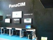 パナソニックのソフトウエア「PanaCIM」展示コーナー
