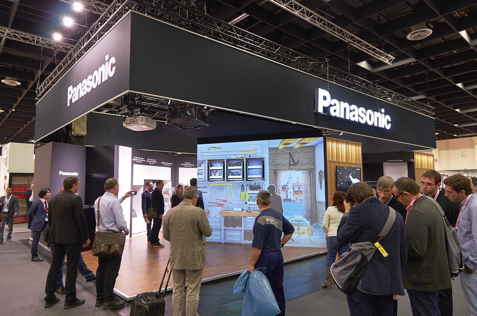 パナソニックがドイツ・ケルンの「interzum 2015」に出展