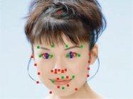 顔パーツ検出イメージ