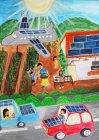 第9回環境絵画コンクール【優秀賞】豊嶋鴻平さん(4年生)香川県