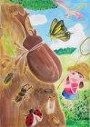 第9回環境絵画コンクール【優秀賞】重岡萌花さん(6年生)福岡県