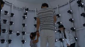 「3D PHOTO Lab.」では親子など二人での撮影も可能