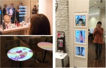 「デジタルミラー」など最先端のハイテク家電も体験できます【CLUXTA上海・環球店】
