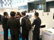 多くのお客様で賑わう「NEPCON CHINA 2015」パナソニックブース(1)