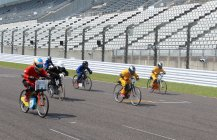 「2015 Ene-1 GP SUZUKA」KV-BIKEチャレンジの様子