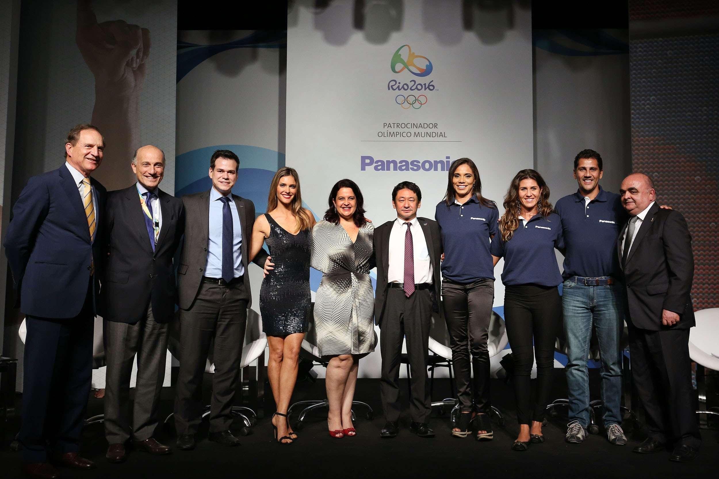 リオオリンピック1年前 パナソニック プレスイベントにて