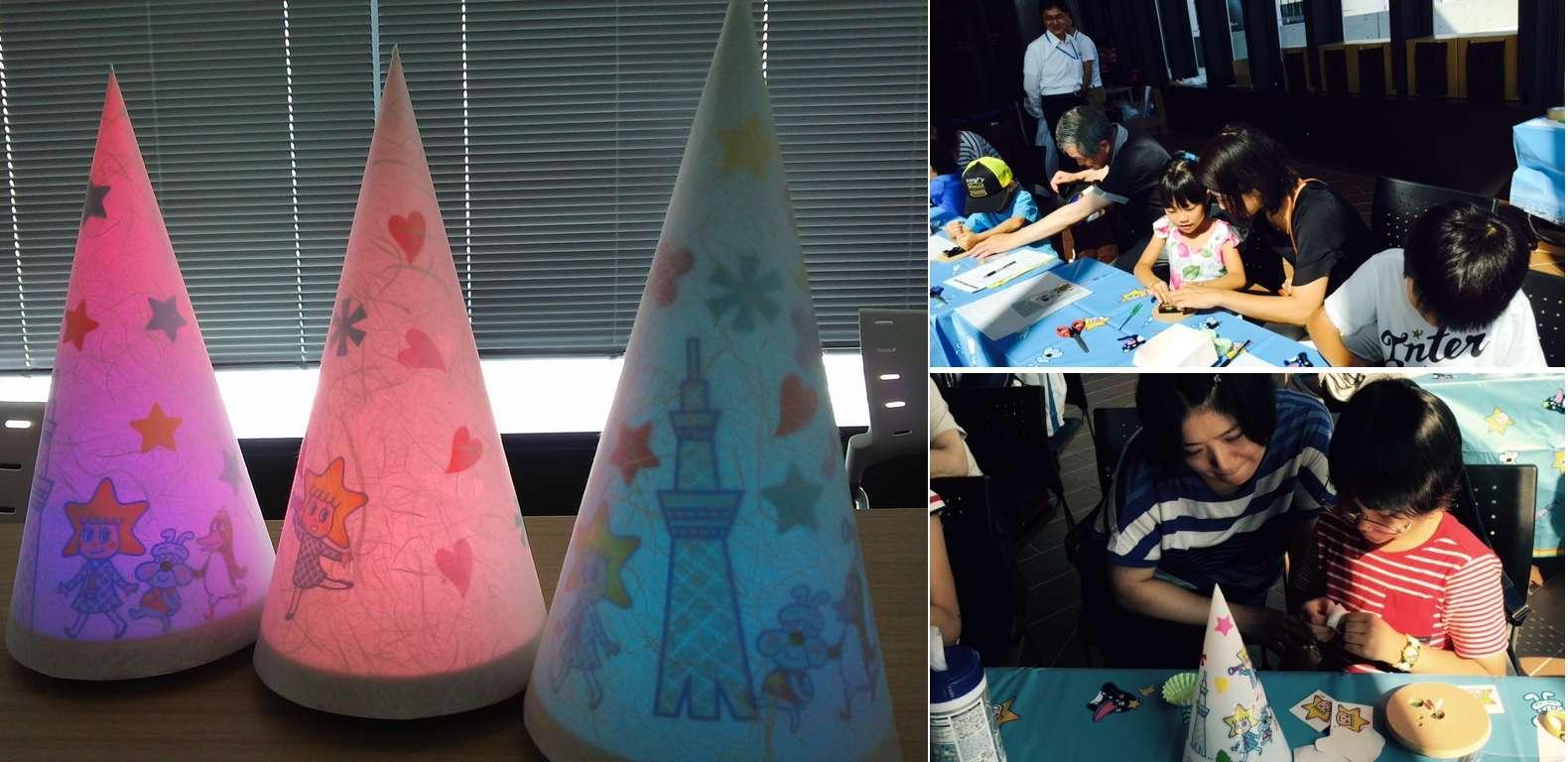 パナソニックが東京スカイツリー(R)開業3周年の夏休みスペシャルイベント「親子LED工作教室」に協賛