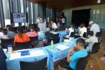 パナソニックが協賛した「親子LED工作教室」実施風景(3)