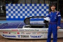 東海大学ソーラーカーチームが新型車両を公開!(2)