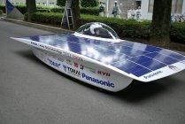 パナソニック太陽電池モジュールHITとリチウムイオン電池を搭載した東海大学の新型ソーラーカー(2)