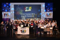 「KWNグローバルコンテスト2015」表彰式の様子