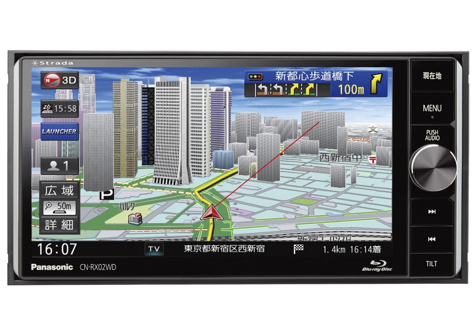「ストラーダ 美優Navi」 CN-RX02WD