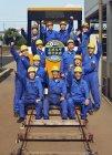 エボルタでギネス世界記録に挑戦!川越工業高校電気科「電車班」の皆さん
