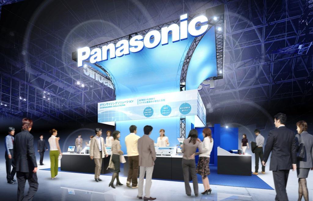 CEATEC JAPAN 2015 パナソニックのデバイス製品ブースイメージ