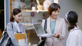 比嘉愛未さんが活躍するレッツノート「SZ5」新CM~「ビジネスで攻める人 金沢出張篇」