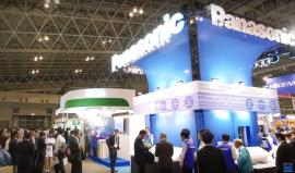 CEATEC JAPAN 2015 パナソニック デバイス製品ブース