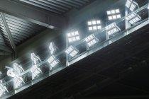 Jリーグ競技場「市立吹田サッカースタジアム」に設置されたLED投光器モジュールタイプ