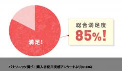 頭皮エステ<スカルプD メカノバイオ>購入者の約85%が満足!!