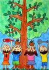 【優秀賞】前田知輝さん(4年生) 第10回環境絵画コンクール