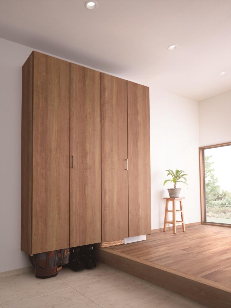 玄関用収納「クロークボックス」プラン例1